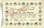 Billets La Fère (02). Ville. Billet. 1 franc 30.11.1914, série L