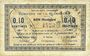 Billets La Flamengrie (02). Commune. Billet. 0,10 centimes 16.9.1915