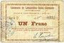 Billets Lesquielles-Saint-Germain (02). Commune. Billet. 1 franc 11.7.1915, série D