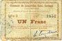 Billets Lesquielles-Saint-Germain (02). Commune. Billet. 1 franc 20.6.1915, série D