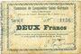Billets Lesquielles-Saint-Germain (02). Commune. Billet. 2 francs 11.7.1915, série E