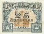Billets Lille (59). Banque d'Emission. Billet. 25 cmes mai 1915