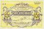 Billets Lille (59). Banque d'Emission. Billet. 50 cmes janvier 1915, série AZ