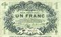 Billets Lille (59). Ville. Billet. 1 franc 15.12.1917, série G