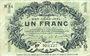 Billets Lille (59). Ville. Billet. 1 franc 15.12.1917, série N
