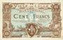 Billets Lille (59). Ville. Billet. 100 francs 11.4.1917, série A