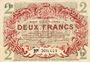 Billets Lille (59). Ville. Billet. 2 francs 15.12.1917, série J