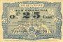 Billets Lille (59). Ville. Billet. 25 cmes 13.7.1917, série T