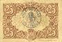 Billets Lille (59). Ville. Billet. 25 cmes 13.7.1917, série Y