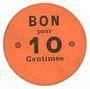 Billets Lyon (69). Société Horme et Buire. Billet. 10 centimes