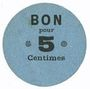 Billets Lyon (69). Société Horme et Buire. Billet. 5 centimes