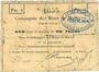 Billets Marles (62). Compagnie des Mines de houille. Billet. 1 franc 10 sept 1914