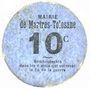 Billets Martres-Tolosane (31). Mairie. Billet. 10 centimes