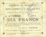 Billets Méricourt (62). Commune. Billet. 2 francs 7.2.1915, série C