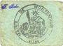 Billets Montbrehain (02). Commune. Billet. 10 centimes