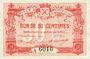Billets Mouy (60). Ville. Billet. 50 centimes 18.9 et 21.11.1915 et 9.8.1916