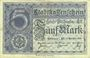 Billets Mulhouse (68). Ville. Billet 5 mark 15.10.1918. Non annulé