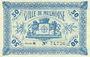 Billets Mulhouse (68). Ville. Billet 50 centimes 18.12.1918. Série E