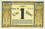 Billets Nice (06). Chambre de Commerce. Billet. 1 franc 25.4.1917, série 31