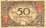 Billets Nice (06). Chambre de Commerce. Billet. 50 centimes 25.4.1917, série 57