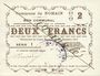 Billets Nomain (59). Commune. Billet. 2 francs 27.12.1914, série I