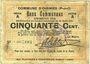 Billets Oignies (62). Commune. Billet. 50 centimes 30.8.1914, série A