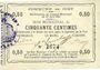 Billets Oisy (02). Commune. Billet. 50 centimes 27.6.1915