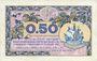 Billets Paris (75). Chambre de Commerce. Billet. 50 centimes 10.3.1920, série A.2
