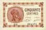 Billets Paris (75). Chambre de Commerce. Billet. 50 centimes 10.3.1920, série B.31