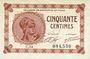 Billets Paris (75). Chambre de Commerce. Billet. 50 centimes 10.3.1920, série C.14