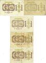 Billets Paris (75). Chambre de Commerce. Billets. 1 franc 10.3.1920 (5ex), séries A.8, E.6, E.25, G.78, G.93