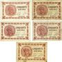 Billets Paris (75). Chambre de Commerce. Billets. 50 cmes 10.3.1920(5ex), séries A.12, B.42, C.8, F.32, H.65