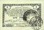 Billets Pas de Calais, Somme et Nord, Groupement de 70 communes. Billet. 1 franc 23.4.1915 série 2I