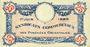 Billets Pyrénées Orientales (66). Syndicats Commerciaux. Billet. 25 centimes 1.6.1920, série A