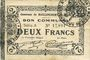 Billets Raillencourt-Ste-Olle (59). Commune. Billet. 2 francs 16.12.1915, série A