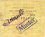 Billets Raimbeaucourt (59). Commune. Billet. 10 francs émission 1915, série A. Essai (Muster) annulé