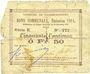 Billets Raimbeaucourt (59). Commune. Billet. 50 centimes 14.11.1914, série E