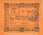Billets Rieulay (59). Commune. Billet. 1 franc 1914