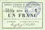 Billets Rimogne (08). Syndicat d'Emission. Billet. 1 franc 30.6.1916, série H 4