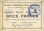 Billets Rimogne (08). Syndicat d'Emission. Billet. 2 francs 30.6.1916, série J 1