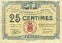 Billets Rochefort-sur-Mer (17). Syndicat du Commerce et de l'Industrie. Billet. 25 centimes