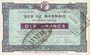 Billets Roubaix et Tourcoing (59). Billet. 10 francs, 6e série. N° 3407. Cachet : ANNULE