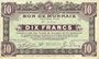 Billets Roubaix et Tourcoing (59). Billet. 10 francs du 27.3.1917, 9e série. N° 3550