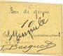 Billets Rumaucourt (62). Bon de Guerre. Billet. 10 centimes, mention annulé manuscrite