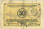 Billets Schirmeck. Ville. Billet. 50 pfennig 7.1918. Grand cachet communal