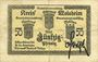Billets Schirmeck. Ville. Billet. 50 pfennig 7.1918. Grand cachet communal