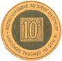 Billets Toul (54). Comité de Défense des Intérêts du Commerce Toulois. Billet. 10 centimes
