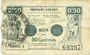 Billets Valenciennes (59). Emprunt Communes. Billet. 50 centimes, série 1