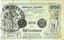 Billets Valenciennes (59). Emprunt Communes. Billet. 50 centimes, série 7