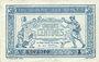 Billets Trésorerie aux Armées. Billet. 50 cmes 1917, série A
